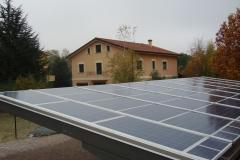 Pensilina Fotovoltaica 10kWp - BM Impianti