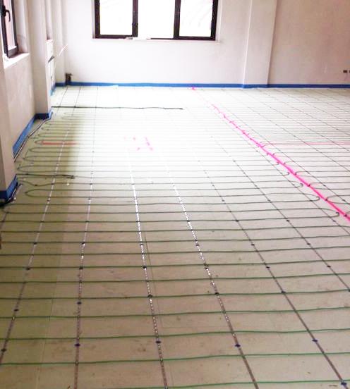 radiante elettrico sala polivalente Comune Borgopace (PU) 2
