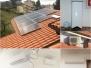 Giovanelli Diego - Fotovoltaico 4 kWp Sunpower - Pompa di calore Ariston 110L - Climatizzazione trial split daikin - Monteciccardo (PU)