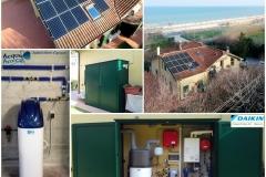 Fotovoltaico  + Pompa di calore Daikin_ BM Impianti_Omiccioli_Pesaro Anc...