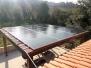 """Fabio S. - Realizzazione """"Chiavi in mano"""" di pensilina in legno con impianto fotovoltaico da 5,4 kWp con moduli SUNPOWER - Montemarciano (AN)"""