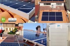 bm impianti fotovoltaico 10 kWp SunPower SolarEdge Pesaro Fano