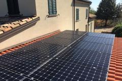 Fotovoltaico 4,5 kWp SunPower_BM IMPIANTI_Pugnotti_Pesaro Ancona Rimini ...