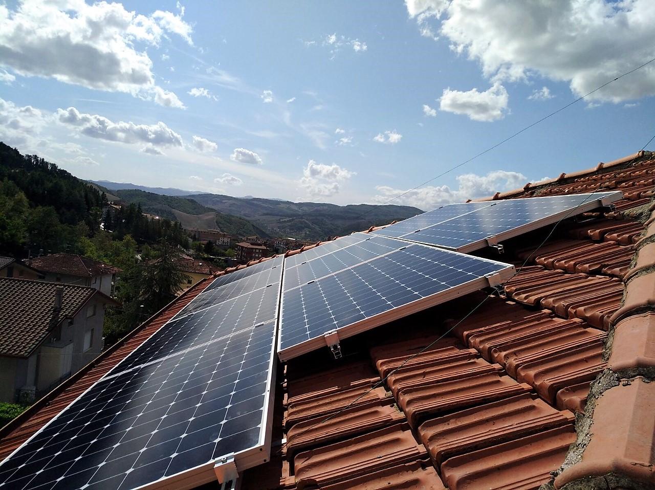 Fotovoltaico 3 kWp SunPower_BM IMPIANTI_Rimini ...