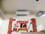 Pizzeria La Piazzetta - Urbania (PU) - 2 impianti mono split Haier Tundra 12000 BTU