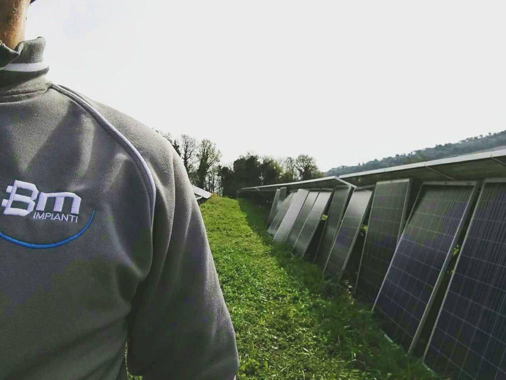 Manutenzione fotovoltaico BM Impianti