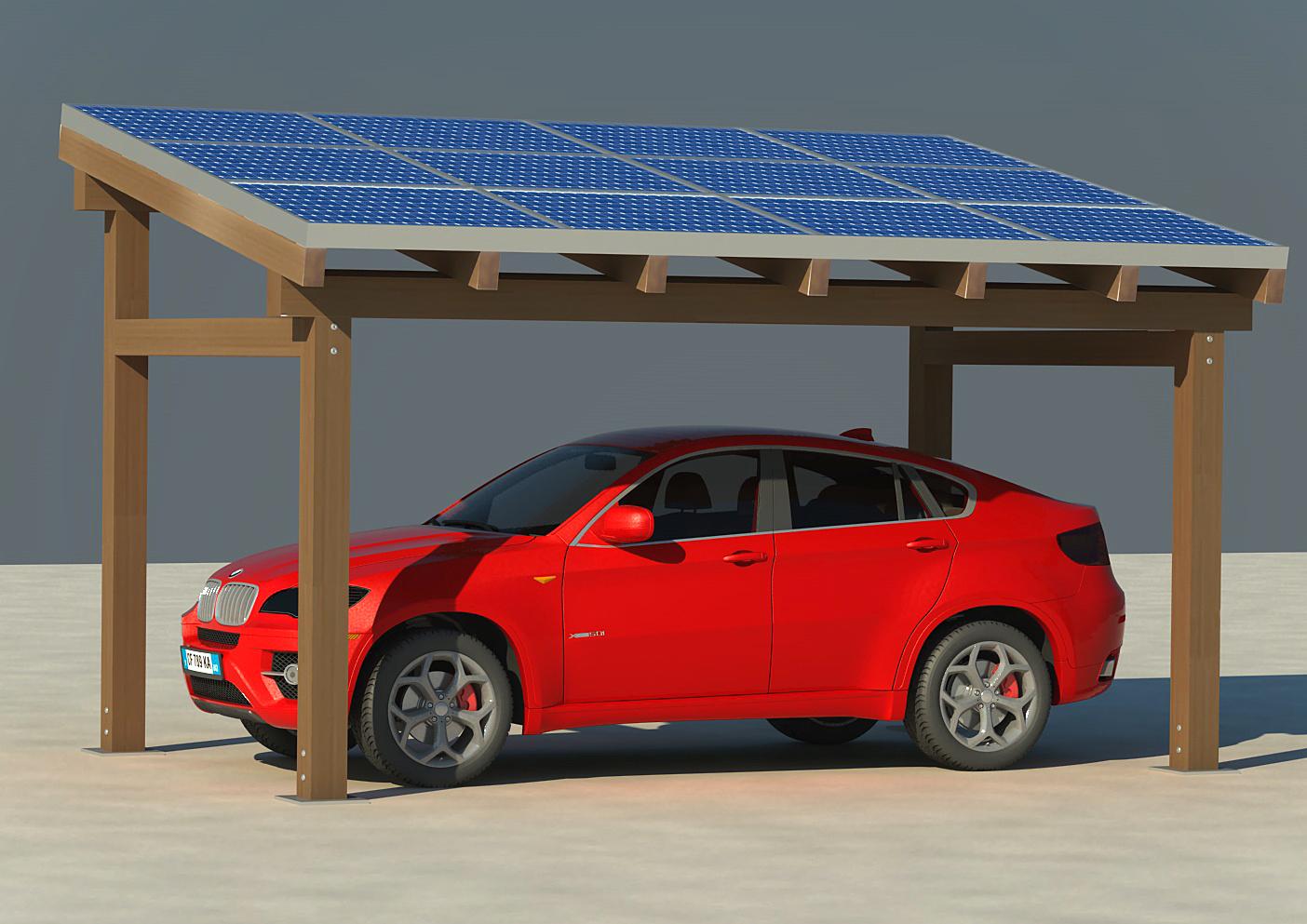 Pensilina fotovoltaico BM Impianti 4