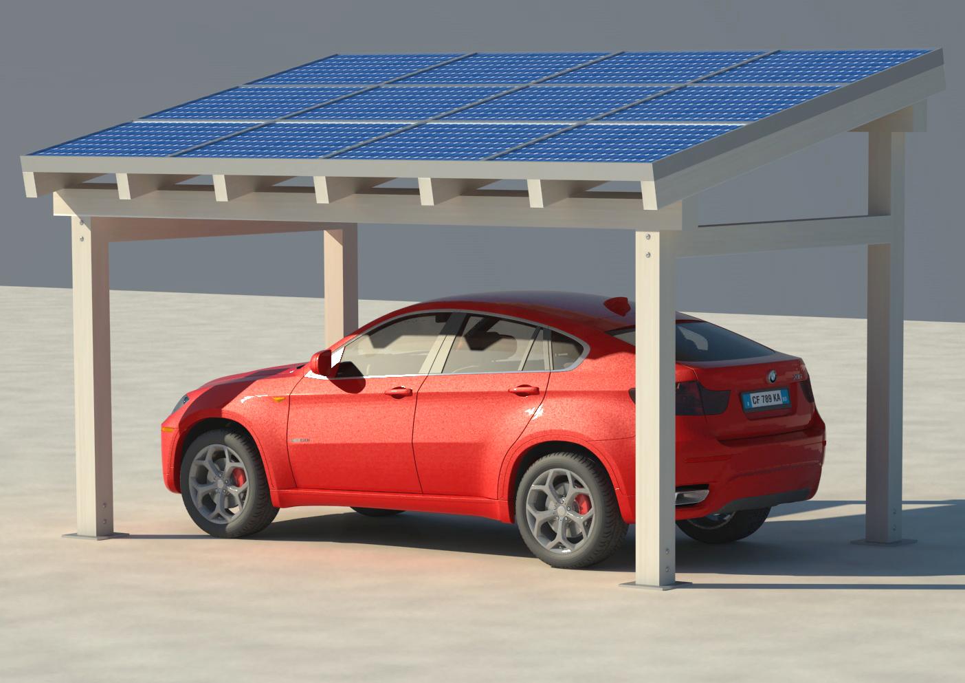 Pensilina fotovoltaico BM Impianti 7