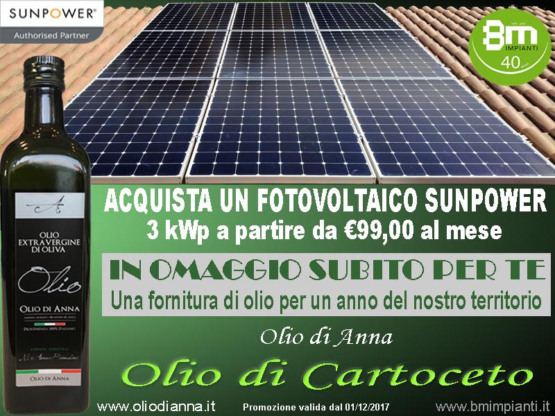 Sunpower olio di anna