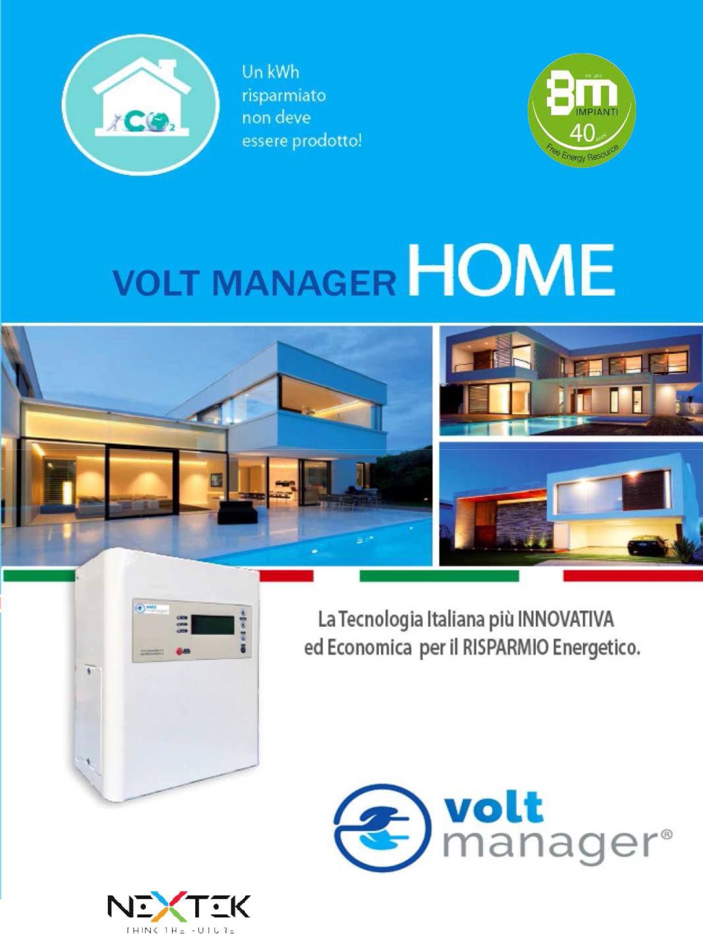 Depliant Volt Manager BM Impianti 2018 OK 1 1