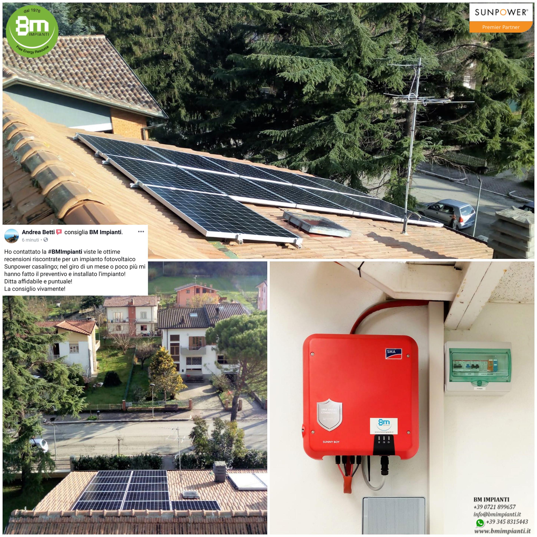 1545205898991 Fotovoltaico SunPower Sonnen BM Impianti Betti  Piandimeleto Pesaro Urba...