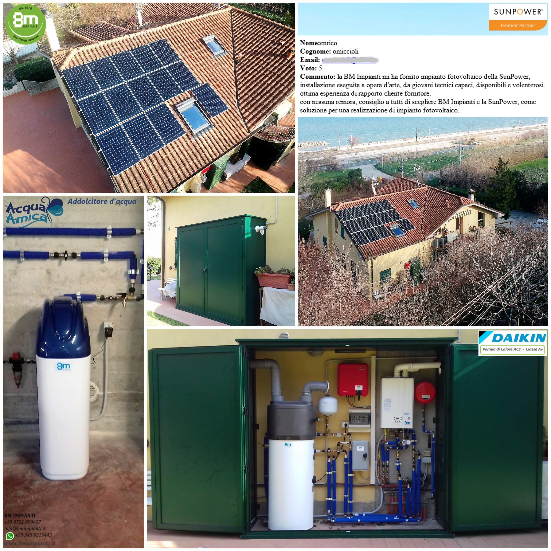 1551733385788 Fotovoltaico Pompa di calore Daikin  BM Impianti Omiccioli Pesaro Anc...