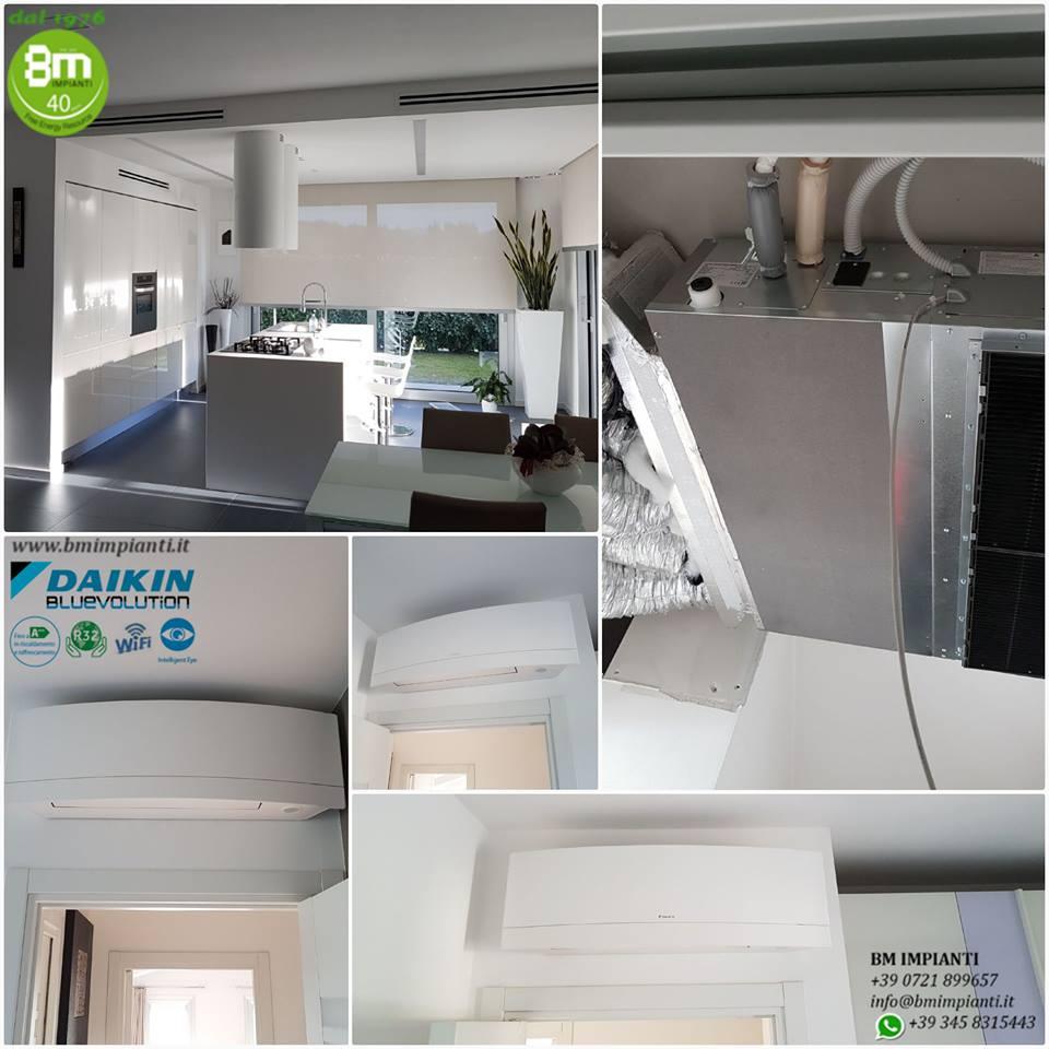 Impianto climatizzazione Daikin  BM Impianti.