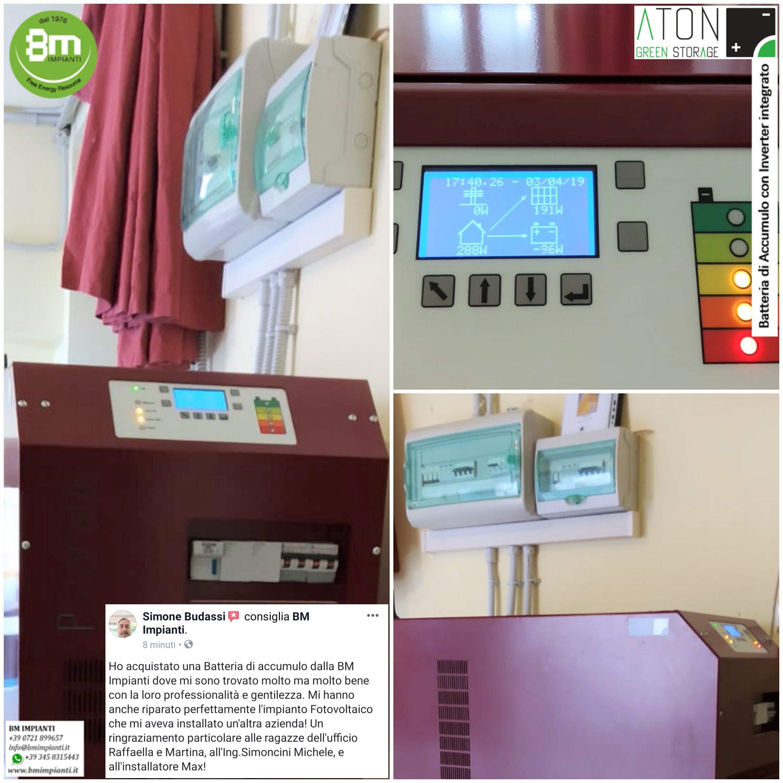 48 kWh Batteria ATON Budassi Simone Lucrezia PU cr