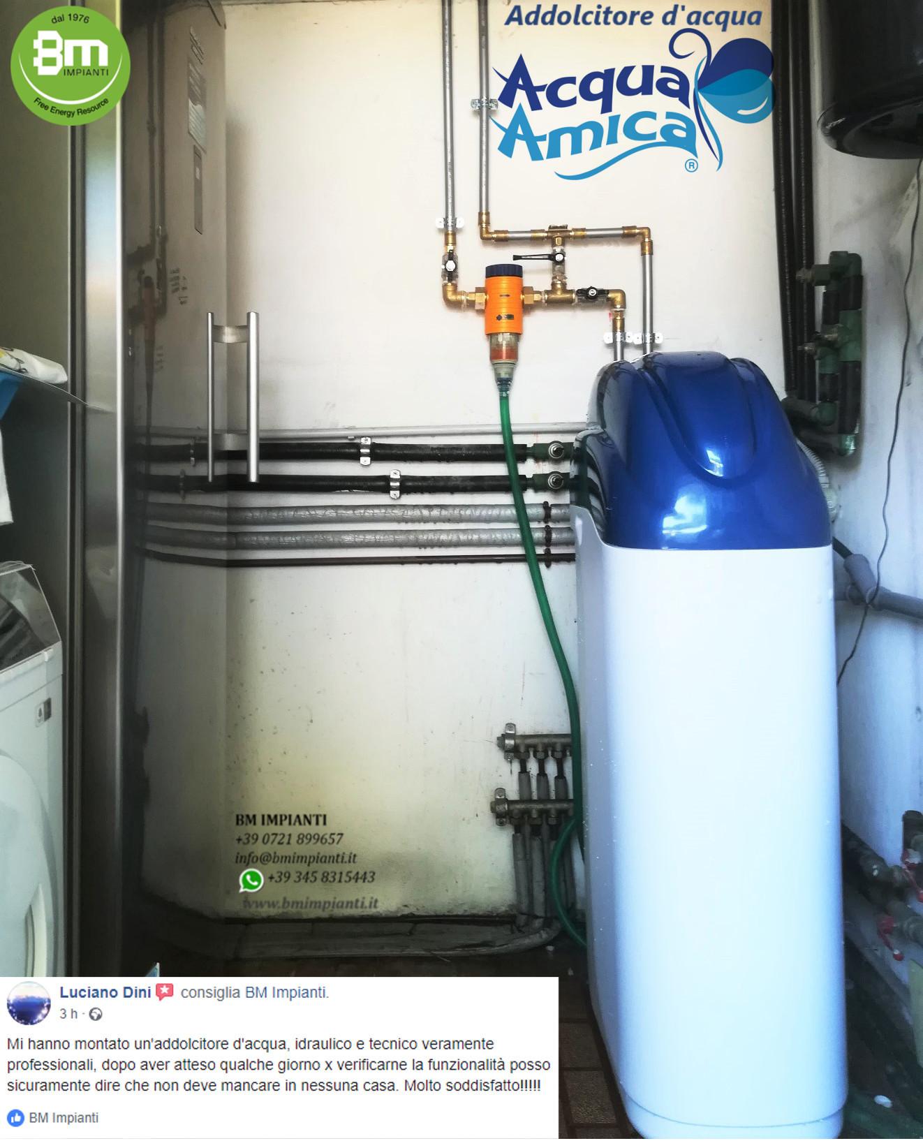 Addolcitore Acqua BM Impianti Dini  Pesaro cr