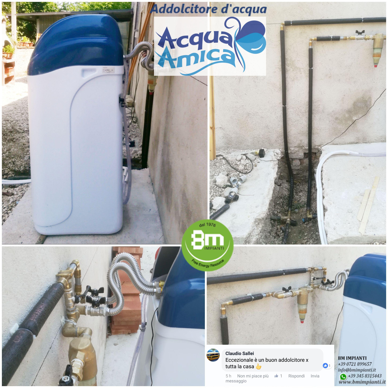 Addolcitore acqua BM Impianti Sallei Agugliano Ancona cR2