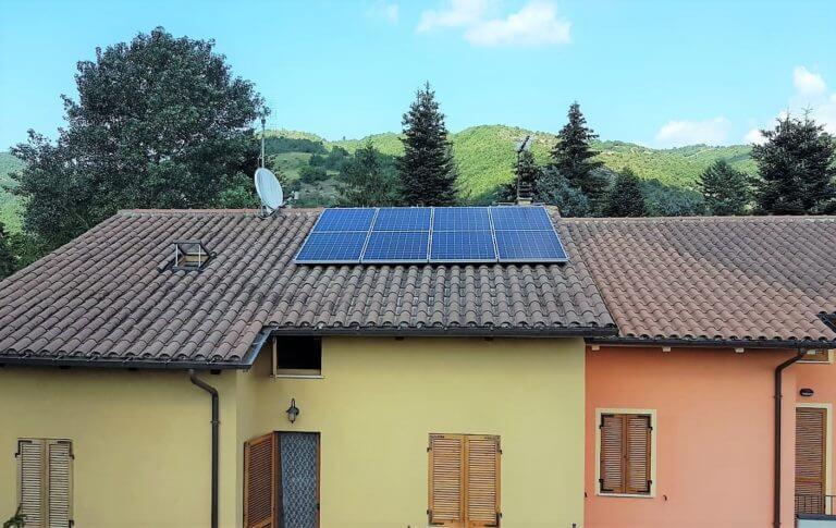 Fotovoltaico 3 kWp SunPower_BM IMPIANTI_Formica_Cagli Acqualagna Lucrezi...