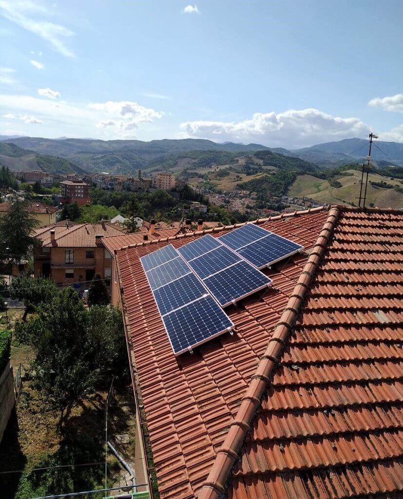 Fotovoltaico 3 kWp SunPower BM IMPIANTI Gualdarini Pesaro Ancona Rimini ...