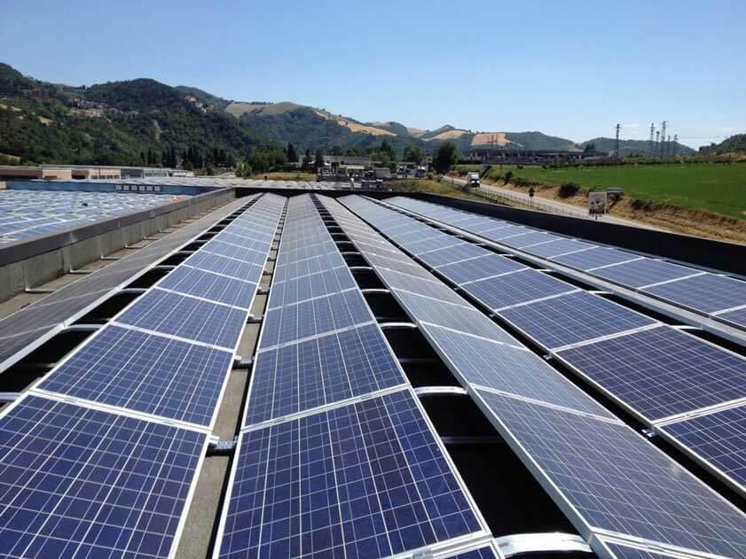 Composer 770 kWp BM Impianti fotovoltaico Sassocorvaro