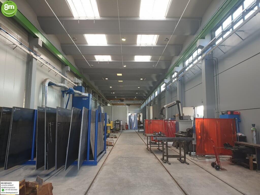 Ferrovie BM Impianti industriale elettrico aria compressa Fano Pesaro l