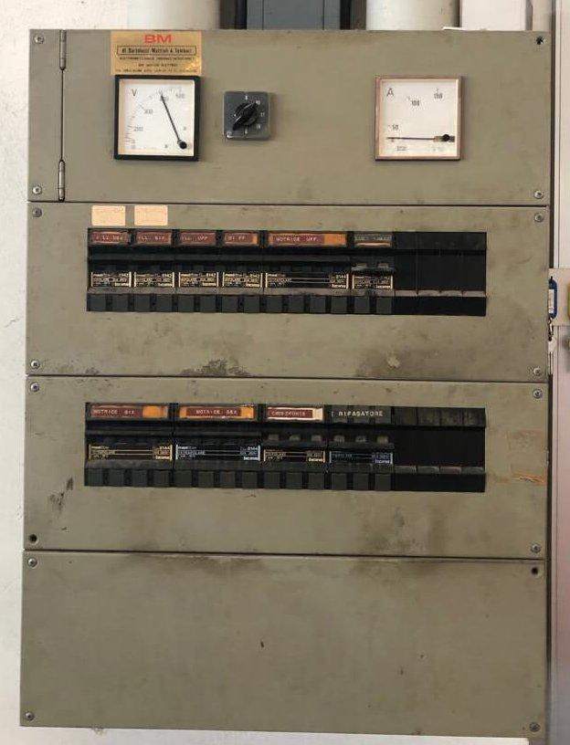 quadro elettrico 1979