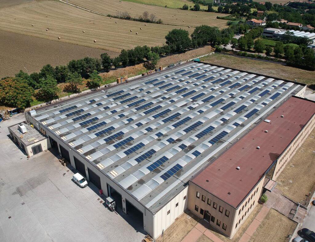 120 kWp Fotovoltaico BM Impianti BBC Elettropome Fossombrone 4 1 1