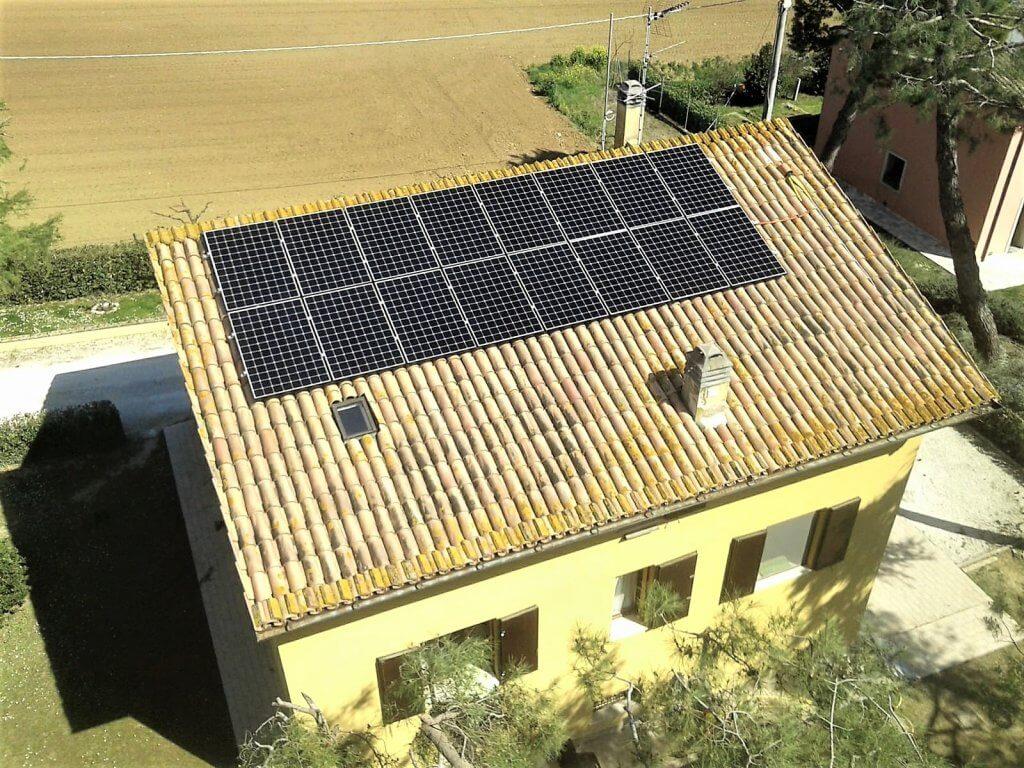 Fotovoltaico SunPower Solaredge BM Impianti Rosi Montemarciano Ancona ... 1